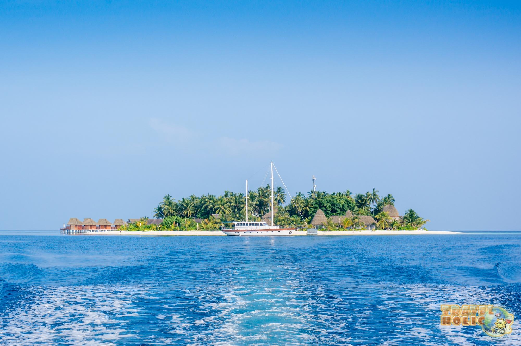 L'île du Kandolhu, aux Maldives