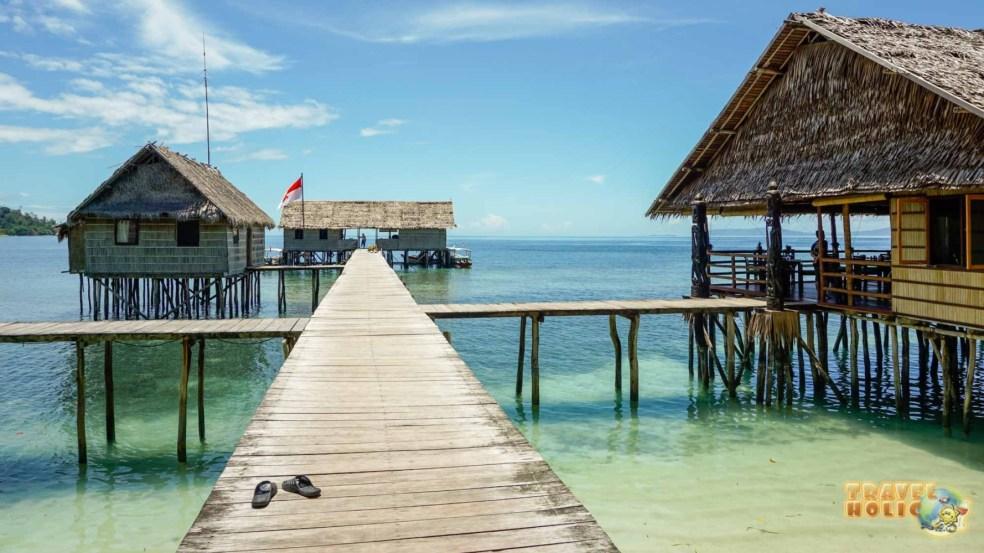 Décor de rêve à Papua Paradise, Raja Ampat