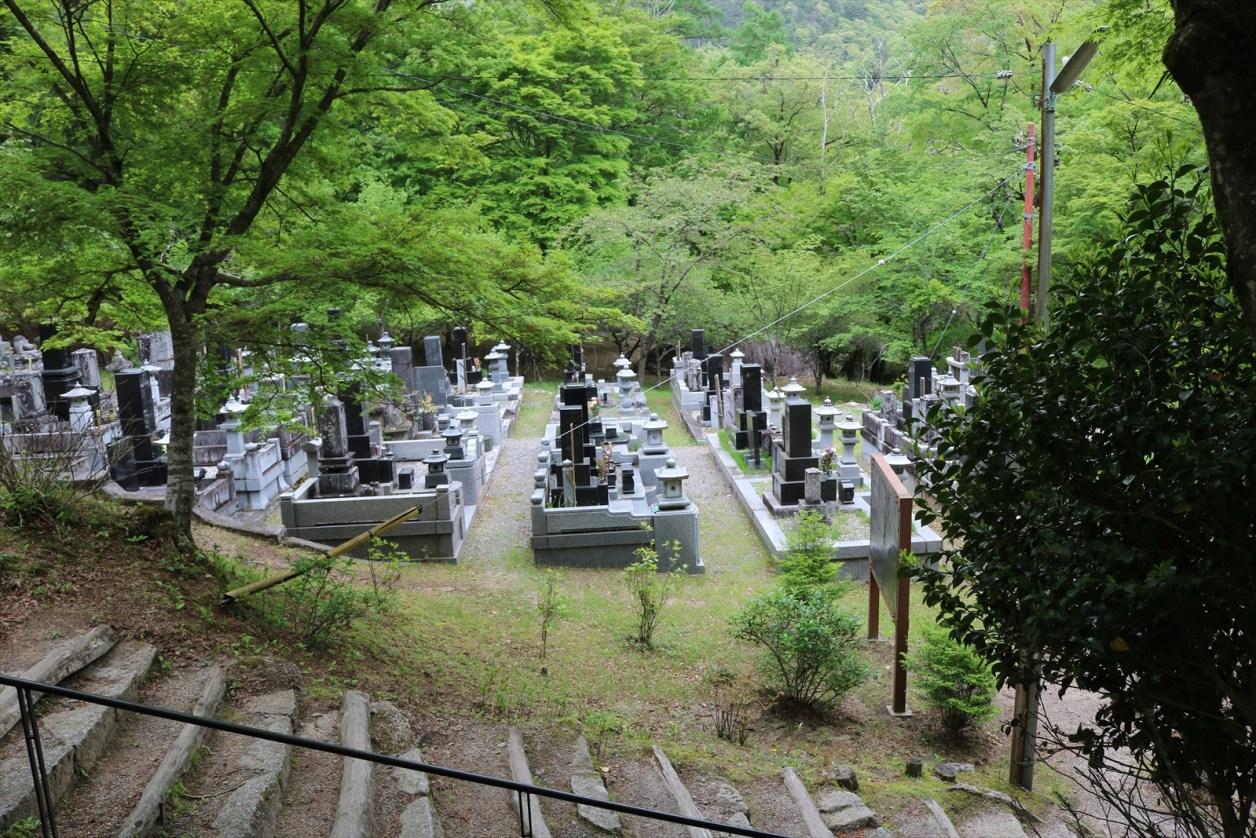 昇仙峡のお墓