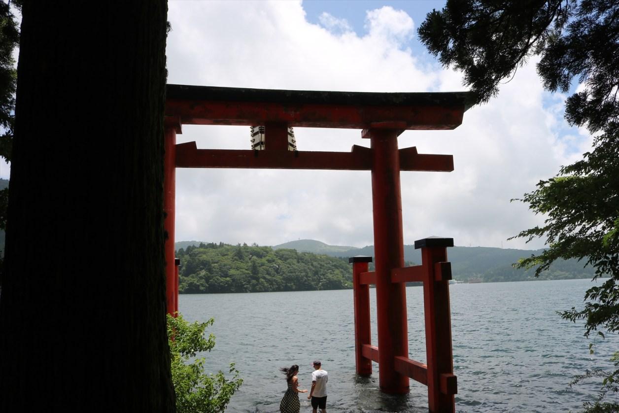 箱根神社の鳥居2