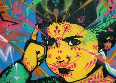 mural - girl