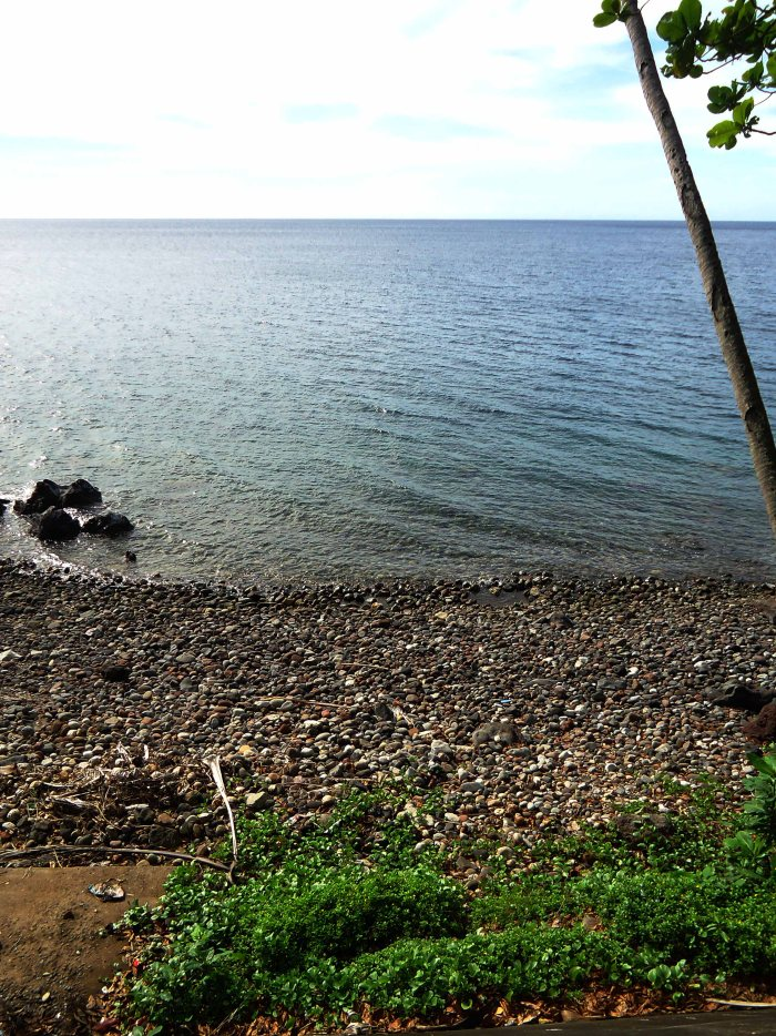 A pebbled beach - Camiguin, Philippines