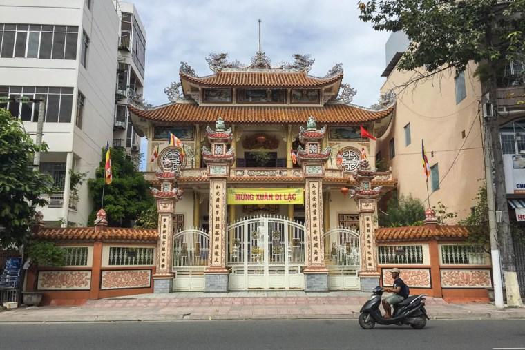 Chinese Architecture - Nha Trang, Vietnam