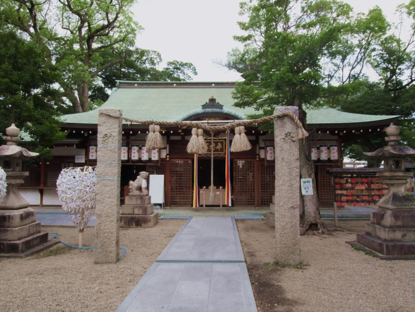 布忍神社本殿