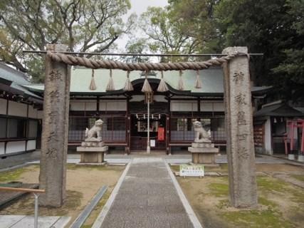 阿麻美許曾神社があるのは、松原市?or 大阪市?