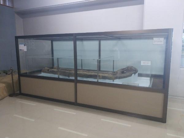 藤井寺市図書館にある小型の修羅