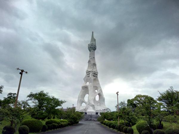 PLの塔の遠景