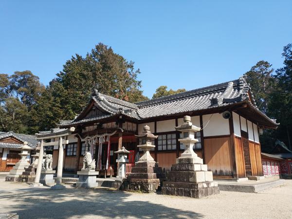 西代神社に近い住吉神社