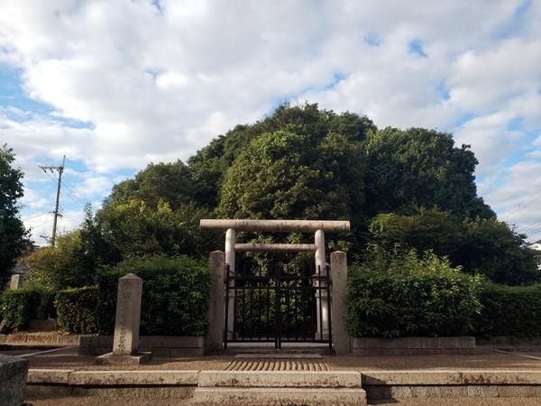 春日山田皇女陵(高屋八幡山古墳)