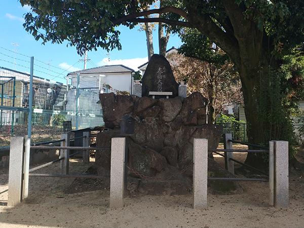 板茂神社境内にある春駒大明神2