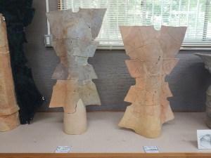 羽曳野市文化財展示室の埴輪