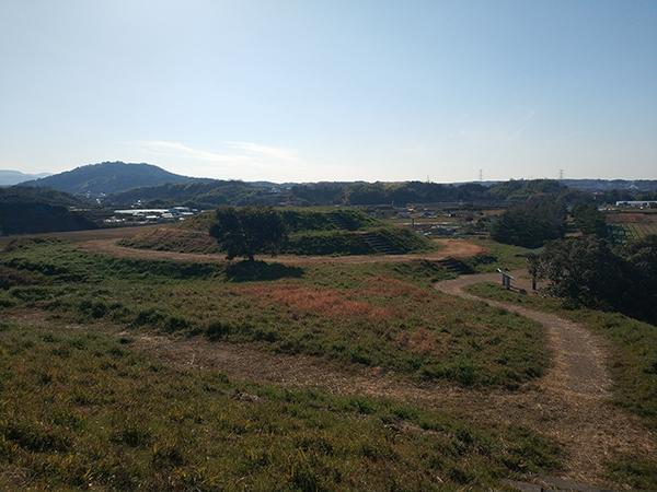 寛弘寺6号墳からの眺望
