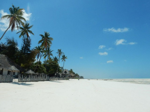 Занзибар, пляж.