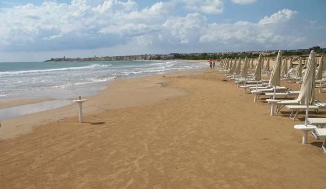 Пляж Сампиери. Сицилия. Италия.