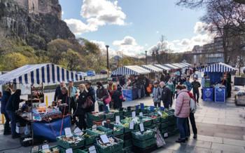 Фермерский рынок Эдинбурга