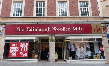 Магазин шерстянных изделий  Edinburgh Woolen Mill