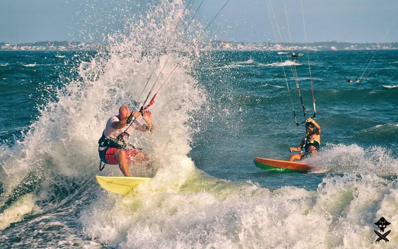 kitesurfing in Mui Ne