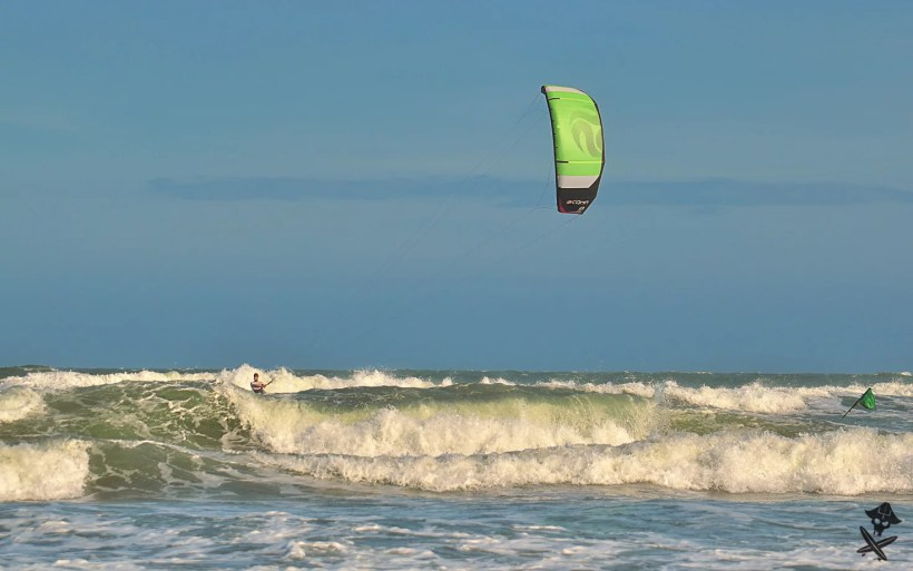 Malibu is a popular kitesurfing wave spot close to Mui Ne in Vietnam