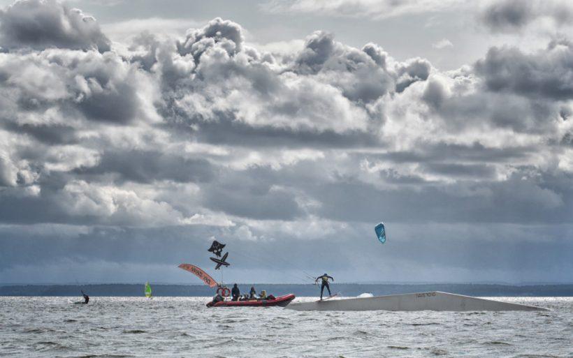kitesurfing blade kite park poland flyn bay bash chalange hel
