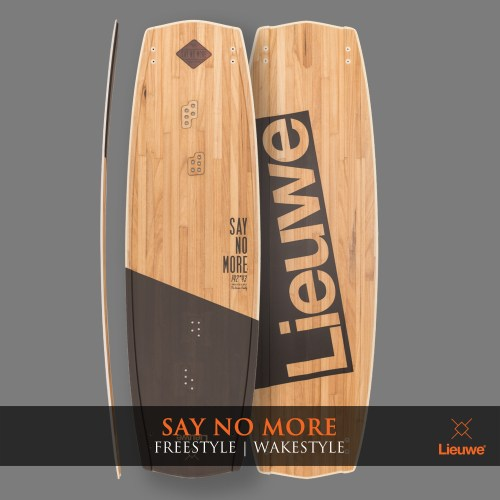 Lieuwe say no more deska kite custom wakestyle