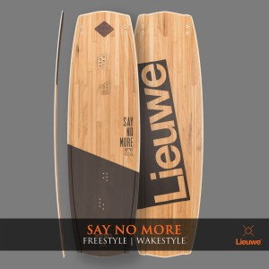 Lieuwe say no more deska kite custom wakestyle