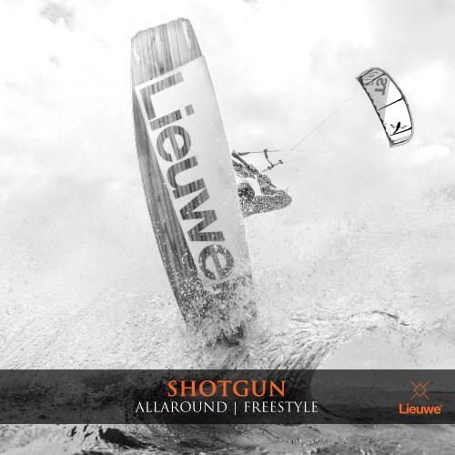 lieuwe shotgun deska kite allaround freestyle custom
