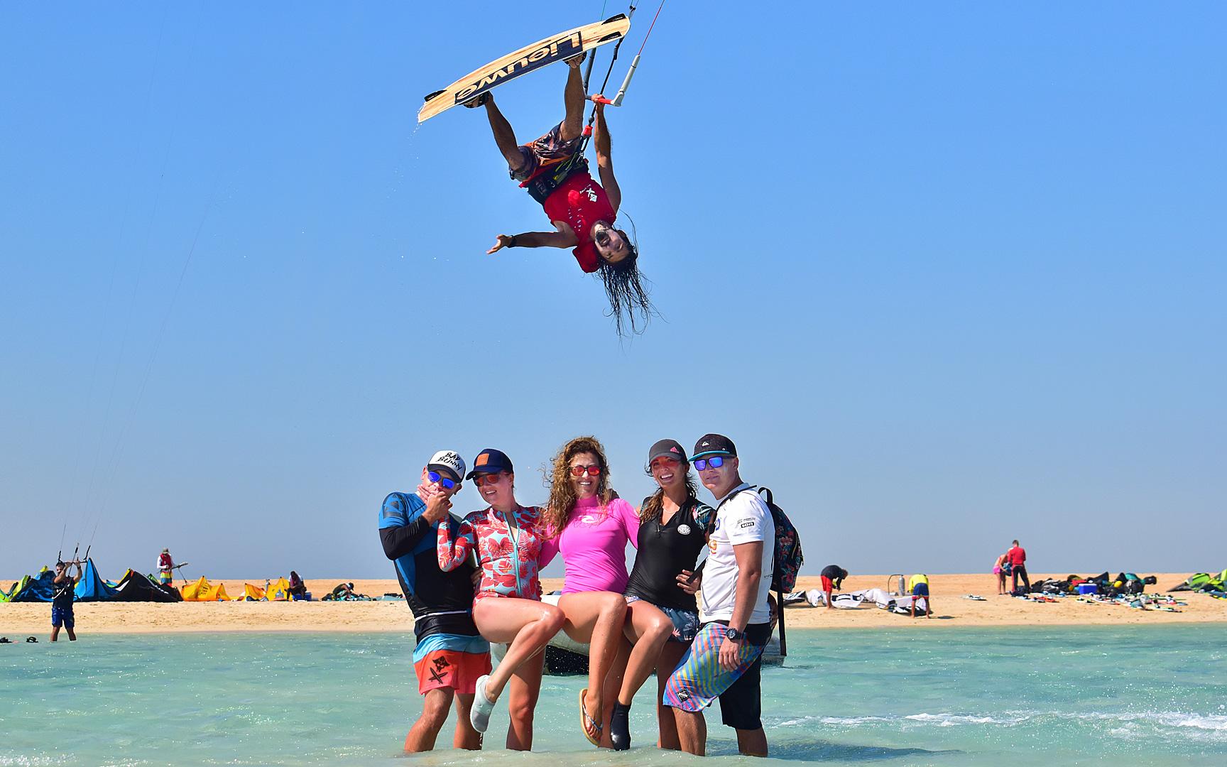 szkolenie kitesurfing kurs progress camp