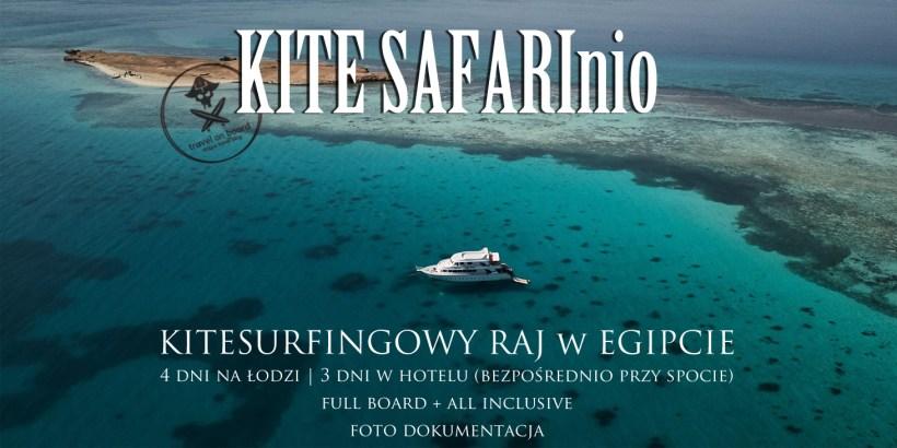 egipt kite safari wyjazdy kitesurfing