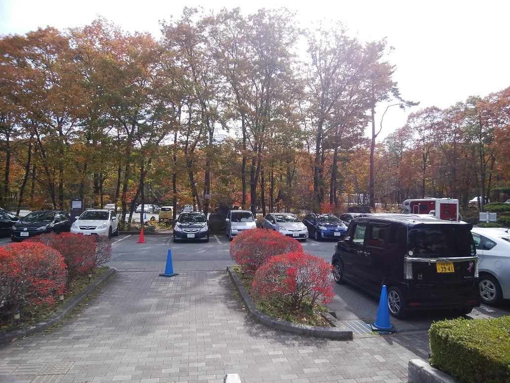 紅富士の湯 駐車場