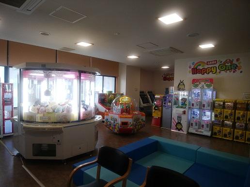 館内にはゲームコーナーも