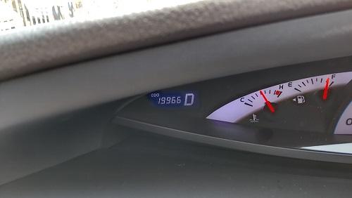 走行距離は19966km