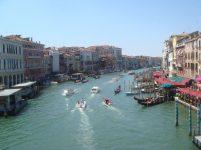 The view from Ponte Rialto, Venezia, Italy