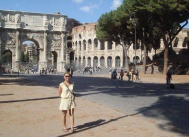 Rome, I'll be seeing you soon