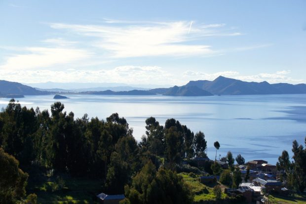 Views of Lake Titicaca from Amantani Island