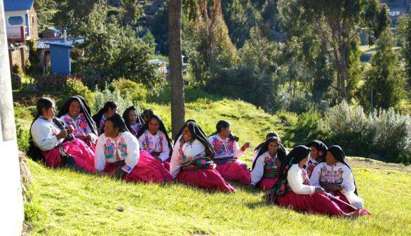 Quechua residents of Amantani