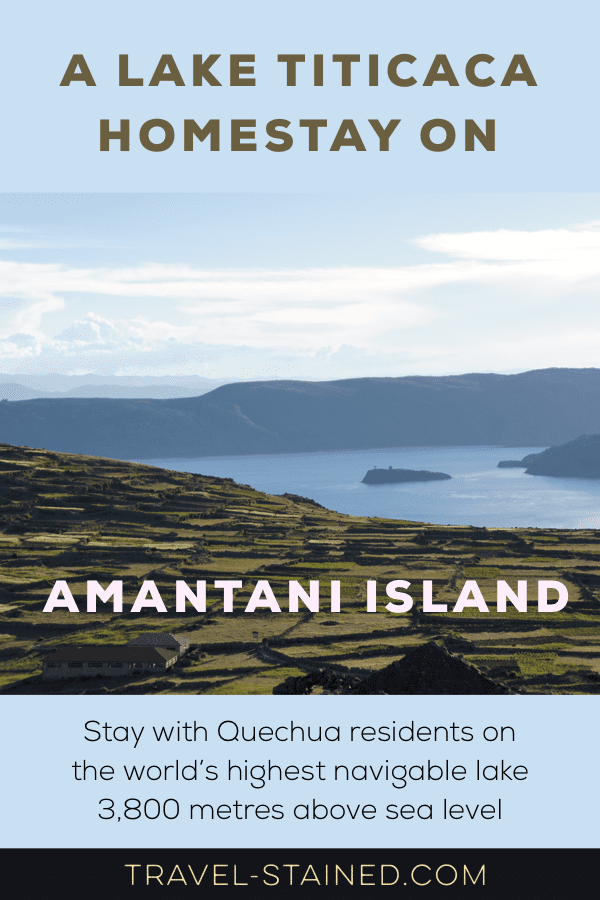 Experience local like with a Lake Titicaca homestay on Amantani Island in Peru. #laketiticaca #amantaniisland #amantani #amantanihomestay #perutravel #amantaniperu #quechuapeople #andes