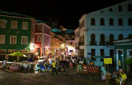 A Tuesday night in Salvador de Bahia
