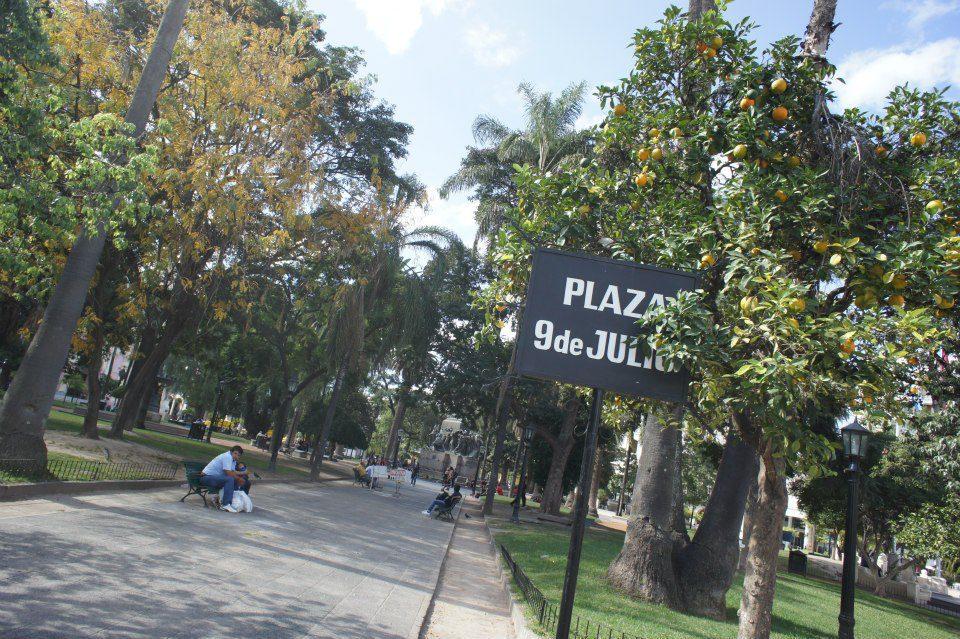Salta's Main Square: Plaza 9 de Julio