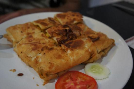 Mughlai chicken stuffed parantha