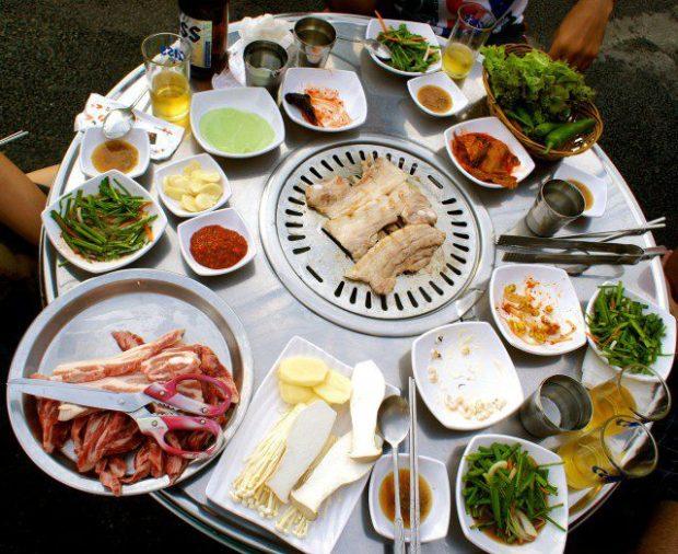 Korean beaches - what to eat
