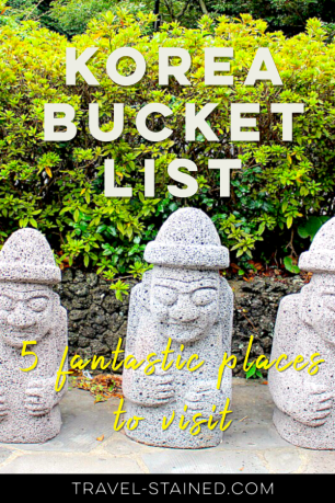 Korea bucket list