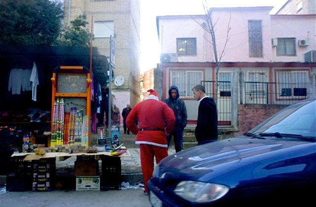 Albanian Santa