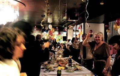 Happy New Years in Struga, Macedonia