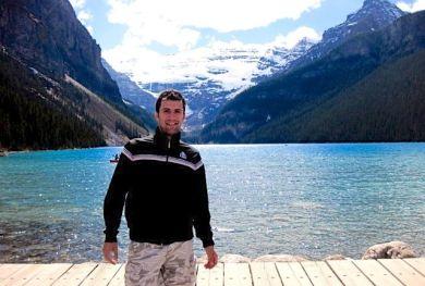 In Lake Louise