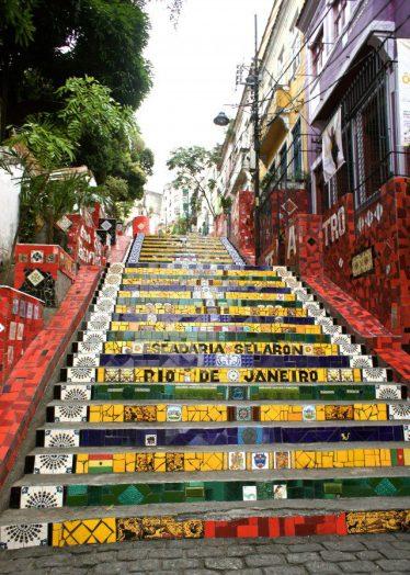 The Escadaria Selarón