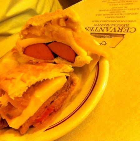 Divine sandwiches at Cervantes in Rio de Janeiro