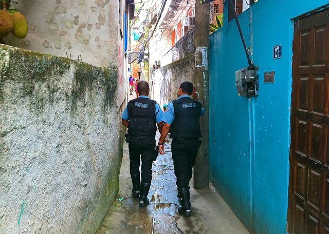 UPP Presence in the favela