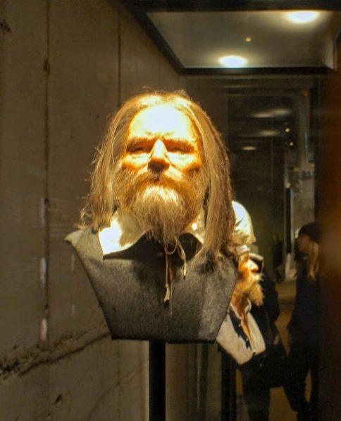 facial reconstruction at the Vasa Museum Stockholm