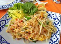 Pad Thai with shrimp