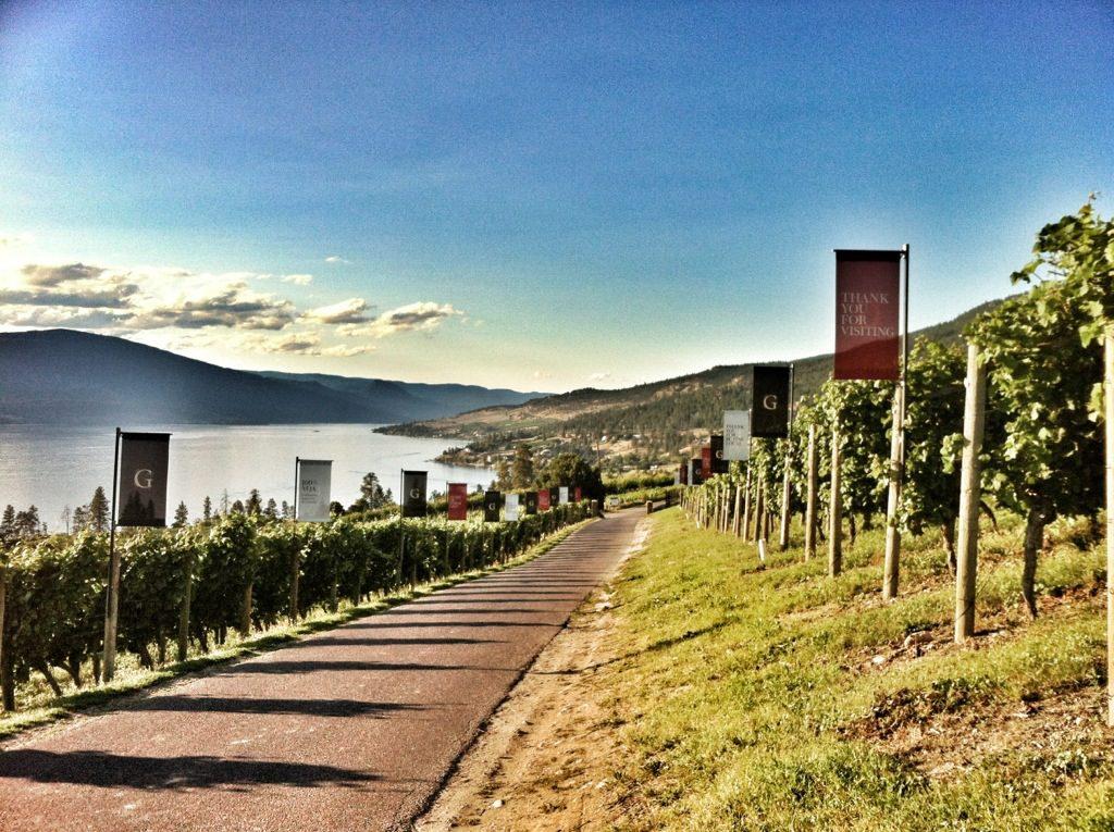 Grey Monk Estate Winery in the Okanagan